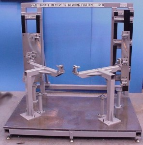 Cowl repair jigs